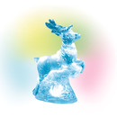 Village Accessories - Lit Ice Castle Reindeer