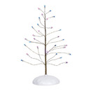 Village Accessories - Pink & Purple Twinkle Brite Tree