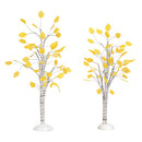 Village Accessories - Autumn Aspen Tree