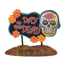 Halloween Village - Day Of The Dead Sign