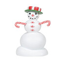 Village Accessories - Peppermint Snowman