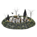 Halloween Village - Animated Ghosts Graveyard