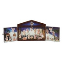 Advent Calendar With Wood (25 Pc Set)
