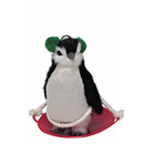 Penguin On Snow Saucer