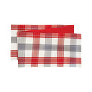 Nordic Plaid Table Runner