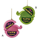 Bubble Tape Gum Ornaments 2 Assorted