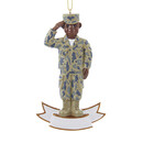 Army Ornament African American Soldier