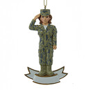 Army Ornament Female Soldier