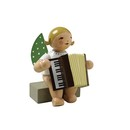 Angel With Accordion, Sitting