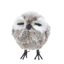 Standing Grey Owl Ornament