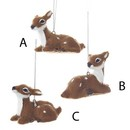Plush Baby Deer Ornaments