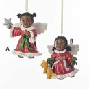 African American Angel Ornament
