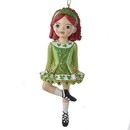 Sugar Art Irish Girl Ornament