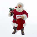 Coca-cola(r) Santa With Coke Bottle And Stocking