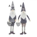 Large Fabric Gnome Ornaments