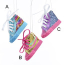 Glitter High-top Sneaker Ornament