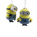 Despicable Me Dave & Carl Injection Molded Ornaments 2 Assorted