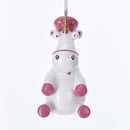 Despicable Me(tm) Pink And White Unicorn Ornament
