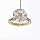 Shiny Diamond Ring Ornament