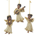 Black Angel Ornament 3 Assorted