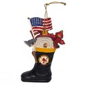 Firefighter's Boot Ornament