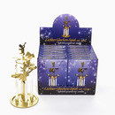 Kurt Adler Gold Angel Chimes With 4 Candles