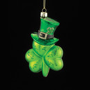 Shamrock With Hat Ornament