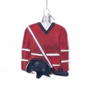 Hockey Outfit Glass Ornament