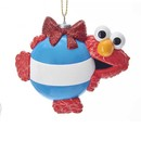 Sesame Street Elmo Ornament For Personalization