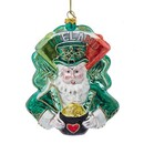 Ireland International Santa Ornament