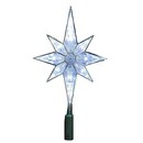 Clear Led 8 Point Star Treetopper