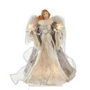 Silver And Gray Angel Treetop