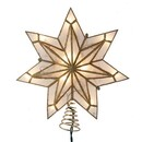 Capiz Gold Star Treetopper