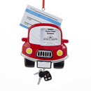 Drivers License Picture Frame Ornament For Personalization
