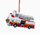 Fire Truck Ornament For Personalization