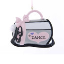 Dance Bag Ornament For Personalization
