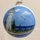 Cana Island Glass Ball Ornament