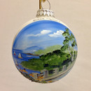 Door County Overlook Glass Ball Ornament