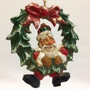 David Frykman Santa Ornament