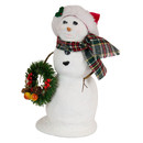 Snowman Large With Wreath