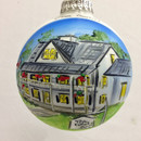 White Gull Inn Glass Ball Ornament